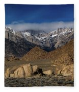 Alabama Hills, Ca Fleece Blanket