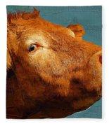 Bull Fleece Blanket