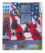 Freak Alley Boise Fleece Blanket