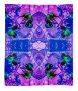 Hawaiian Plant Series Fleece Blanket