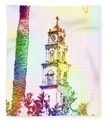 Jaffa, St Peter Church And Monastery Fleece Blanket