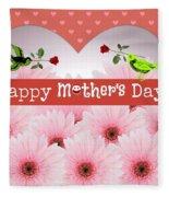 Mother's Day Fleece Blanket