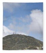 Mount Washington - White Mountains New Hampshire Usa Fleece Blanket