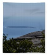 Mountain's View Fleece Blanket