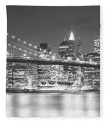 Nyc, New York City, New York State, Usa Fleece Blanket