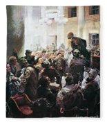 Russian Revolution, 1917 Fleece Blanket