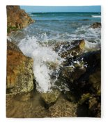 Sunshine Beach At Noosa, Sunshine Coast Fleece Blanket