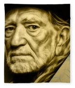 Willie Nelson Collection Fleece Blanket