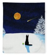Winter Star Fleece Blanket