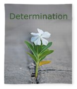 88- Determination Fleece Blanket