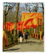 9-10-3057k Fleece Blanket