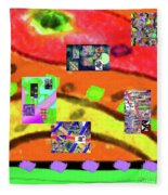 9-11-2015abcdefghijklmnopqrtuvwxyz Fleece Blanket