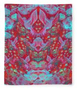 Birds Symphony Fleece Blanket