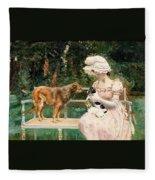 Charles Henry Tenre Fleece Blanket