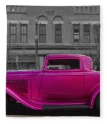Ford Hot Rod Fleece Blanket