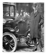 Henry Ford, 1863-1947 Fleece Blanket
