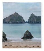 Holywell Bay - Cornwall Fleece Blanket