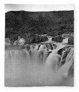 Idaho: Shoshone Falls Fleece Blanket