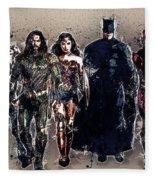 Justice League Fleece Blanket