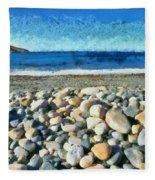 Livada Beach  Fleece Blanket