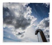 Pipes At Nesjavellir Geothermal Power Fleece Blanket