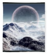 Planet Rise Fleece Blanket