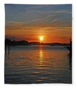 9- Sailfish Marina Fleece Blanket