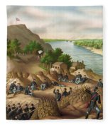 Siege Of Vicksburg, 1863 Fleece Blanket