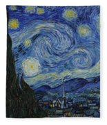 The Starry Night Fleece Blanket