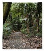 Walking Trail Fleece Blanket