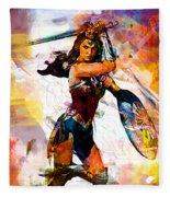Wonder Woman Fleece Blanket
