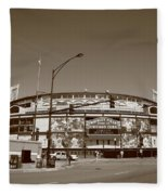 Wrigley Field - Chicago Cubs Fleece Blanket