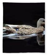 9246 Female Mallard Fleece Blanket