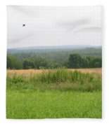 #940 D1095 Farmer Browns West Newbury Fleece Blanket