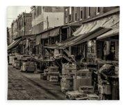 9th Street Italian Market - Philadelphia Pennsylvania Fleece Blanket