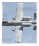A-10 Thunderbolt II Fleece Blanket