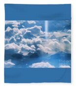A Beam Of Heavenly Light Fleece Blanket