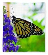 A Beautiful Monarch Fleece Blanket