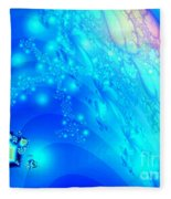 A Beautiful World Fleece Blanket