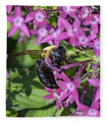 A Bee See Fleece Blanket