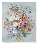 A Bouquet Of Roses Fleece Blanket