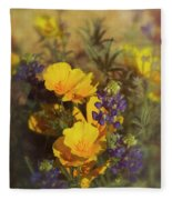 A Bouquet Of Spring  Fleece Blanket