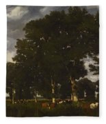 A Bright Day 1840 Fleece Blanket
