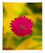 A Button From The Blur Fleece Blanket