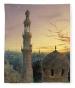 A Call To Prayer Fleece Blanket