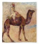 A Camel Fleece Blanket