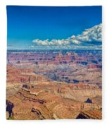A Canyon Grand Fleece Blanket
