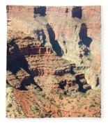 A Canyon Scene Fleece Blanket