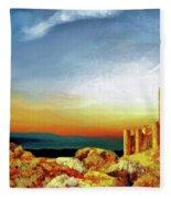 A Castle In Spain Fleece Blanket
