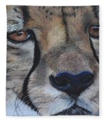 A Cheetah Fleece Blanket